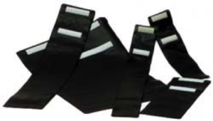 GUAINE PLASTICA CON CHIUSURA VELCRO TELATE - FLEXIBLE PVC REINFORCED ENVELOPES WITH VELCRO FASTENING